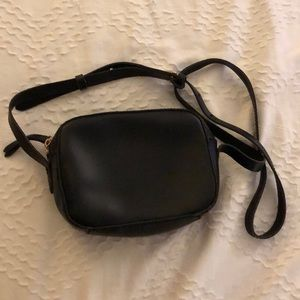 Jcrew black crossbody bag